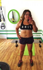Elizabeth, owner and trainer at Tiny Fitness