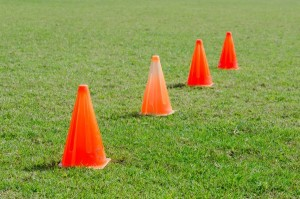 training-cones