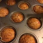 strawberry gluten free muffins