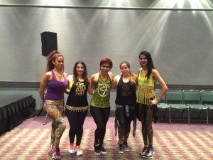 sucheta pal and team zumba