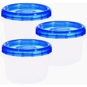 disposable round storage containers