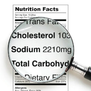 nutrition label learn to read