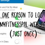myfitnesspal settings weight loss