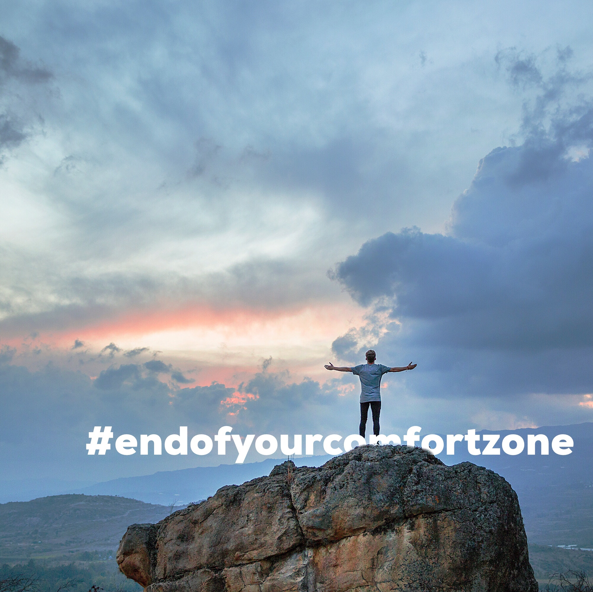 your results are just past the end of your comfort zone